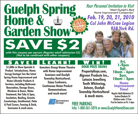 On Everything From Windows And Flooring To Cabinets And Landscaping.Register  To Receive A Discount Coupon Good At Any Of Our Home And Garden Shows.